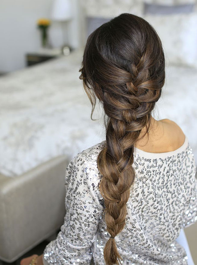 Over-the-Shoulder Elsa Braid