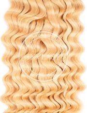 clip in kučeravé stredná blond 45 cm | Invlasy.sk - clip in vlasy