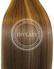 clip-in rychlopás stredne zlatá hnedá-svetlo zlatá blond 38 cm | Invlasy.sk - clip in vlasy
