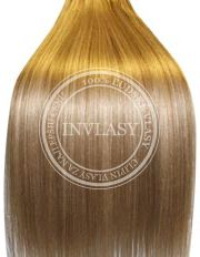 clip-in deluxe najsvetlejšia hnedá-svetlá blond 51 cm