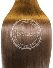 clip-in rychlopás najsvetlejšia hnedá 38 cm | Invlasy.sk - clip in vlasy
