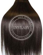 clip-in deluxe tmavo hnedá 51 cm | Invlasy.sk - clip in vlasy