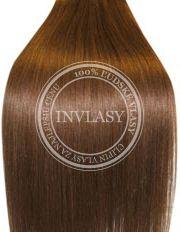 clip in vlasy svetlo hnedá 45 cm | Invlasy.sk - clip in vlasy