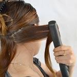 Testovanie žehličky na vlasy od Rowenty