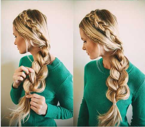 trifecta braid - návod #4