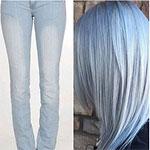 Horúci trend: Vlasová farba v podobe džínsov zahlcuje sociálne siete!