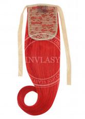 clip in cop červená | Invlasy.sk - clip in vlasy