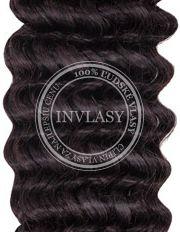 clip in kučeravé čierna prirodzená 45 cm | Invlasy.sk - clip in vlasy