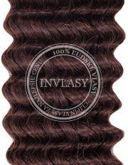 clip in kučeravé tmavo hnedá 45 cm | Invlasy.sk - clip in vlasy