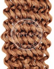 clip in kučeravé svetlo hnedá 45 cm | Invlasy.sk - clip in vlasy