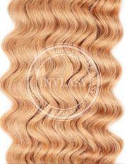 clip in kučeravé zázvorová blond 55 cm | Invlasy.sk - clip in vlasy