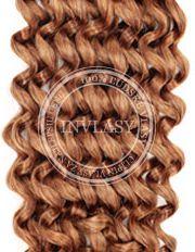 clip in kučeravé svetlo hnedá 55 cm | Invlasy.sk - clip in vlasy