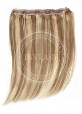 clip in rýchlopás deluxe stredne zlatá hnedá-svetlo zlatá blond 55 cm | Invlasy.sk - clip in vlasy