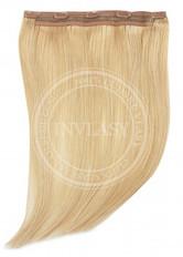 clip in rýchlopás deluxe svetlá zlatá blond 45 cm