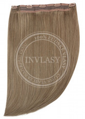 clip in rýchlopás deluxe svetlo popolavá hnedá 45 cm | Invlasy.sk - clip in vlasy