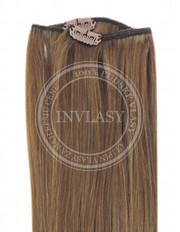 clip-in rychlopás tmavá blond 38 cm | Invlasy.sk - clip in vlasy