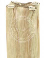 clip-in rychlopás svetlo zlatá blond-svetlá blond 61 cm | Invlasy.sk - clip in vlasy