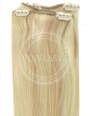 clip-in rychlopás svetlo zlatá blond-svetlá blond 45 cm
