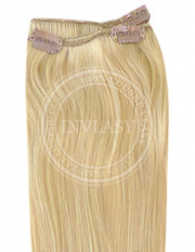 clip-in rychlopás svetlá zlatá blond 45 cm | Invlasy.sk - clip in vlasy
