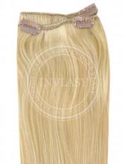 clip-in rychlopás svetlá zlatá blond 38 cm