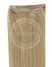 clip-in rychlopás najsvetlejšia hnedá 51 cm | Invlasy.sk - clip in vlasy
