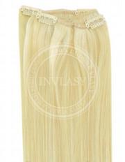 clip-in rychlopás stredná blond-svetlá blond 51 cm | Invlasy.sk - clip in vlasy