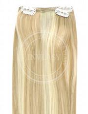 clip-in rychlopás zázvorová blond-svetlá blond 51 cm | Invlasy.sk - clip in vlasy