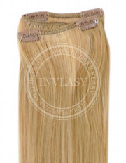 clip-in rychlopás zázvorová blond 51 cm