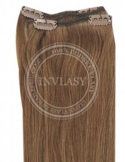 clip-in rychlopás svetlo hnedá 51 cm | Invlasy.sk - clip in vlasy