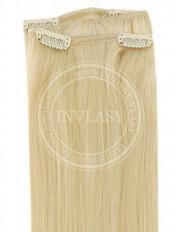 clip-in rychlopás svetlá blond 51 cm | Invlasy.sk - clip in vlasy