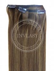 clip-in rychlopás svetlo popolavá hnedá 51 cm | Invlasy.sk - clip in vlasy