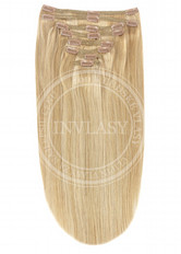 clip in vlasy stredne zlatá hnedá-svetlo zlatá blond 55 cm