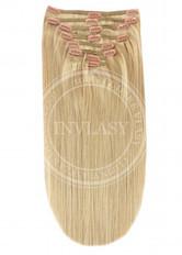 clip-in deluxe svetlá zlatá blond 45 cm | Invlasy.sk - clip in vlasy