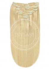 clip-in deluxe stredná blond 45 cm | Invlasy.sk - clip in vlasy