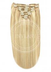 clip-in deluxe zázvorová blond-svetlá blond 45 cm | Invlasy.sk - clip in vlasy