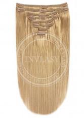 clip-in deluxe zázvorová blond 51 cm | Invlasy.sk - clip in vlasy
