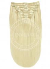 clip-in deluxe najsvetlejšia blond 45 cm | Invlasy.sk - clip in vlasy