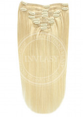 clip in vlasy svetlá blond 45 cm | Invlasy.sk - clip in vlasy