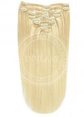 clip in vlasy svetlá blond 61 cm
