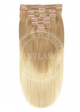 clip in deluxe ombré T18/613 51 cm | Invlasy.sk - clip in vlasy