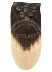clip in vlasy ombré T2/27 45 cm