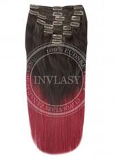 clip in vlasy ombré T2/530 45 cm | Invlasy.sk - clip in vlasy