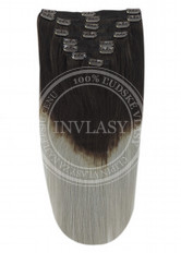 clip in vlasy ombré T2/SG 45 cm | Invlasy.sk - clip in vlasy