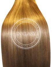 clip-in zvýrazňovače svetlo hnedá popolavá-zlatá blond - svetlá 61 cm