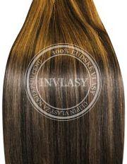 clip-in rychlopás čierna prirodzená-zázvorová blond 38 cm
