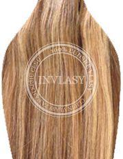 clip-in deluxe svetlo hnedá-zázvorová blond 38 cm | Invlasy.sk - clip in vlasy