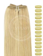 DIY svetlo zlatá blond-svetlá blond 38 cm | Invlasy.sk - clip in vlasy