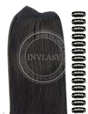 DIY čierna prirodzená 38 cm | Invlasy.sk - clip in vlasy