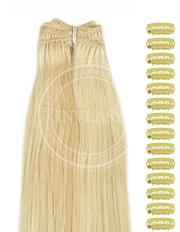 DIY stredná blond-svetlá blond 38 cm | Invlasy.sk - clip in vlasy