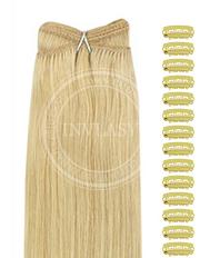 DIY stredná blond 51 cm | Invlasy.sk - clip in vlasy
